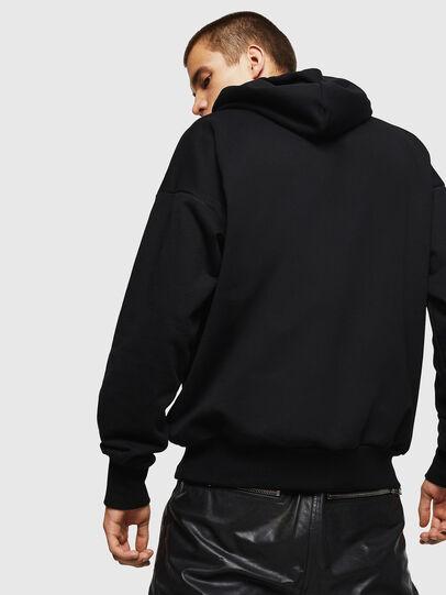 Diesel - LCP-S-ALBY-ELPROFESO, Black - Sweaters - Image 3