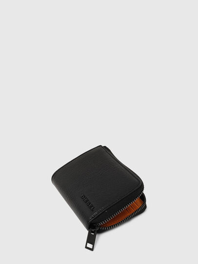 Diesel - L-PASSME, Black/Orange - Small Wallets - Image 5