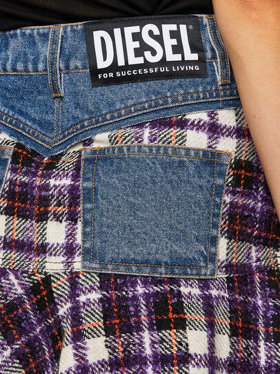 Diesel - O-BETH-BUCLE, Blue/Violet - Skirts - Image 4