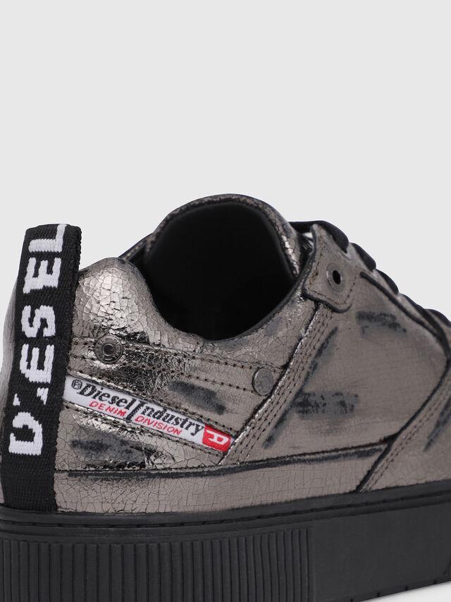 Diesel - S-DANNY LC II W, Silver/Black - Sneakers - Image 4