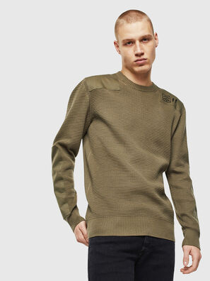 K-LESTER, Military Green - Knitwear