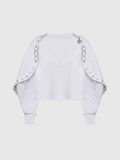 Diesel - F-OLL, White - Sweaters - Image 1
