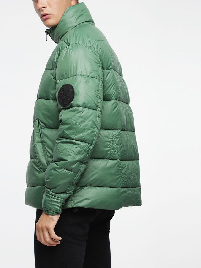 Diesel - W-SMITH-A-WH, Water Green - Winter Jackets - Image 2