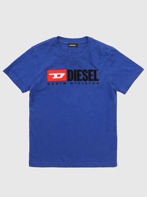 TJUSTDIVISION, Melange Blue - T-shirts and Tops