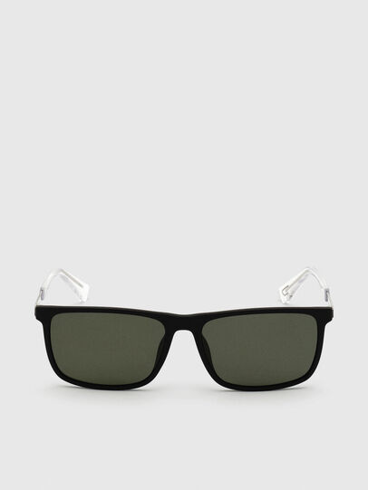 Diesel - DL0312, Black - Sunglasses - Image 1