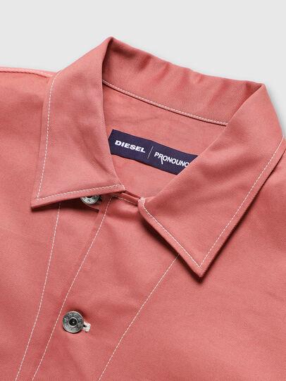 Diesel - PR-SH01, Pink - Denim Shirts - Image 3