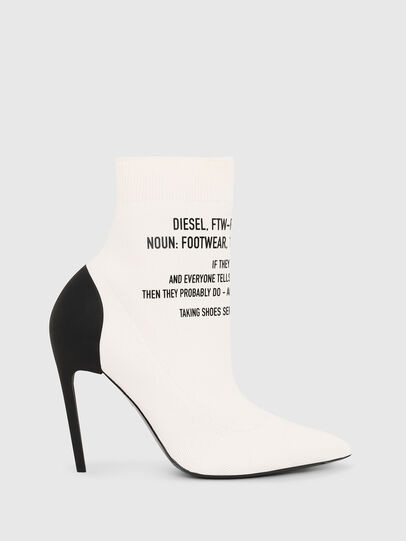 Diesel - D-SLANTY HAB, White - Ankle Boots - Image 1