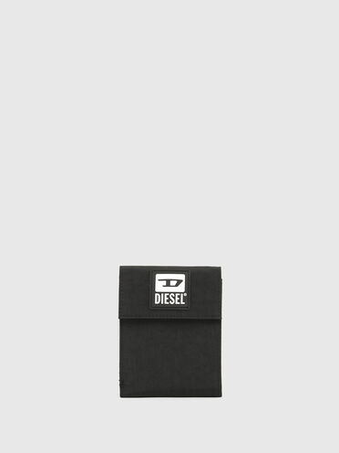 Velcro wallet with lanyard and D patch