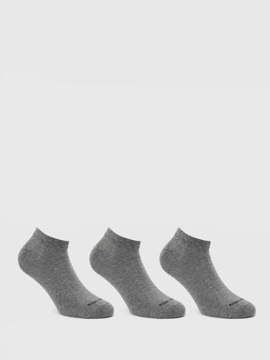SKM-GOST-THREEPACK, Grey - Low-cut socks