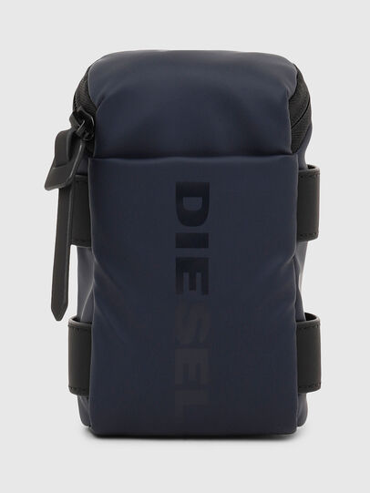 Diesel - SHOULDME, Dark Blue - Small Wallets - Image 1