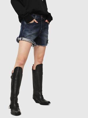DE-LOWY, Medium blue - Shorts