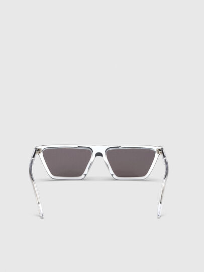 Diesel - DL0304, White - Sunglasses - Image 4