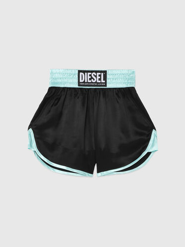 Boxing shorts in light twill
