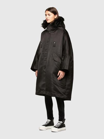 Diesel - W-URSULA-A, Black - Winter Jackets - Image 7