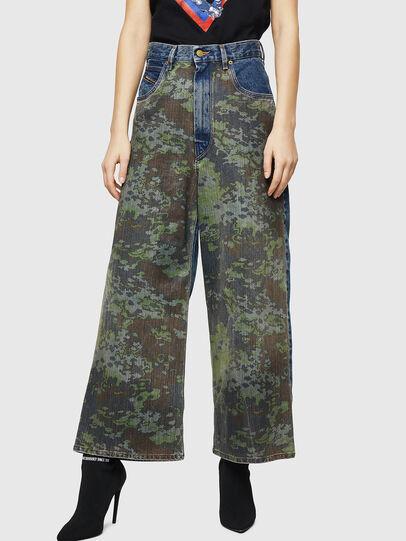 Diesel - D-Luite 0078E, Medium blue - Jeans - Image 1
