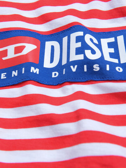 Diesel - DARIETTAB, Red/White - Dresses - Image 3