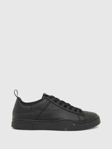 Green Label low-top sneakers in regenerated leather