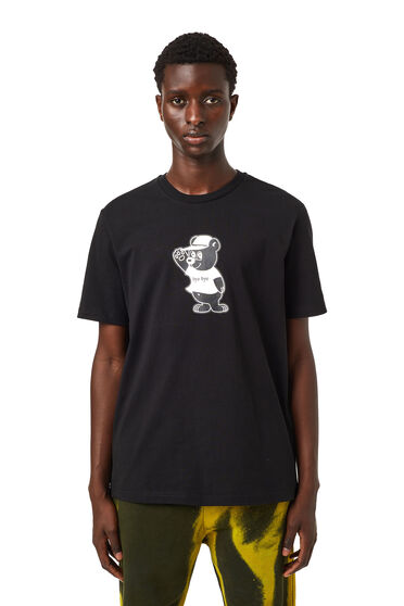 T-shirt with bear print