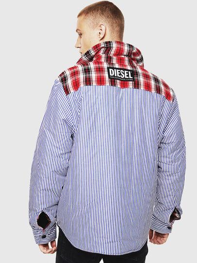 Diesel - S-JOHNS, Red/Black - Shirts - Image 4