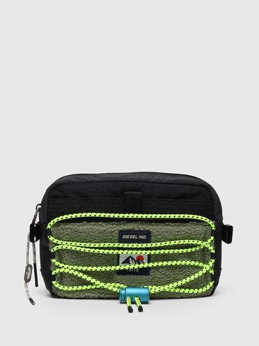 Harness bag with trekking details