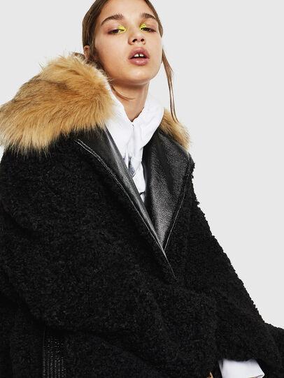 Diesel - L-ASC, Black - Leather jackets - Image 4