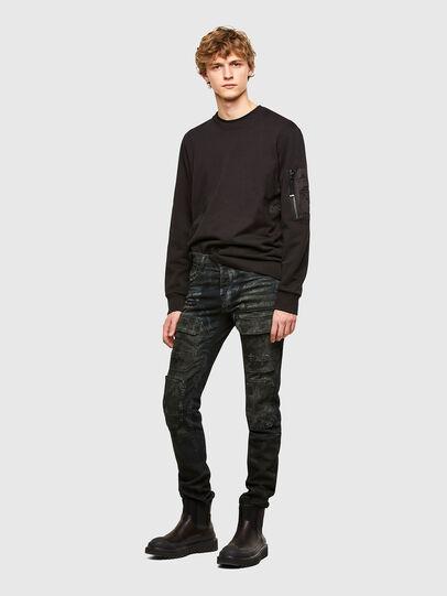Diesel - S-IRIDIO, Black - Sweaters - Image 5