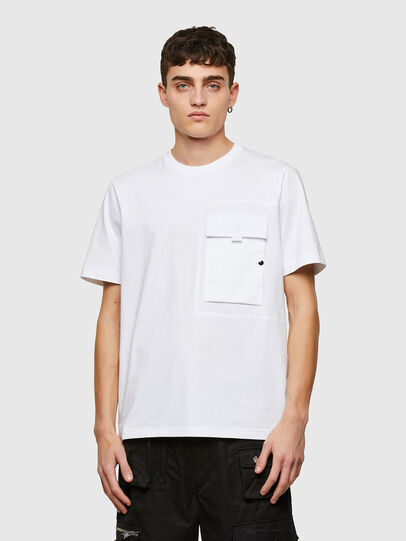 Diesel - T-WORKAN, White - T-Shirts - Image 1