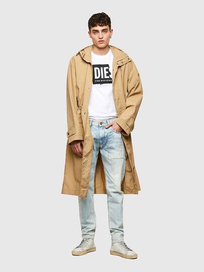 Diesel - T-DIEGOS-LAB, White - T-Shirts - Image 4