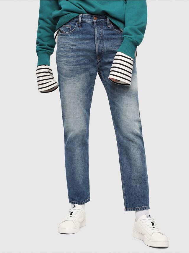 Diesel - D-Aygle 0076Y, Medium blue - Jeans - Image 1
