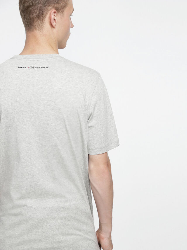 Diesel - T-JUST-XV, Grey - T-Shirts - Image 2