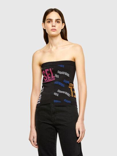 Diesel - M-URA, Black - Knitwear - Image 1