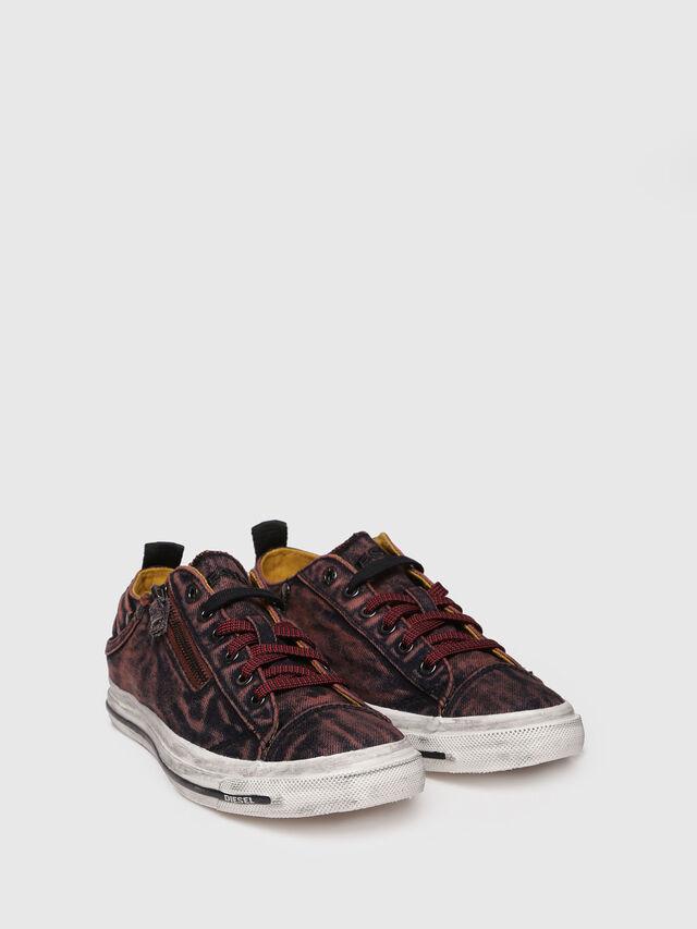 Diesel - EXPO-ZIP LOW W, Red - Sneakers - Image 3