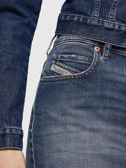 Diesel - DE-EISY, Blue Jeans - Skirts - Image 3