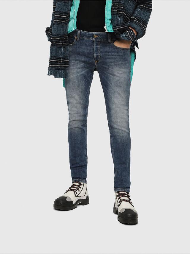 Diesel - Sleenker 082AB, Medium blue - Jeans - Image 1