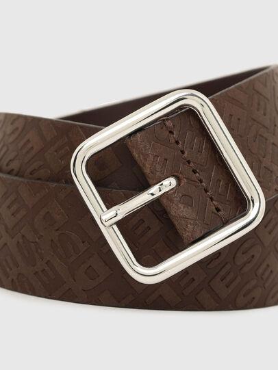 Diesel - B-OMNI, Dark Brown - Belts - Image 2