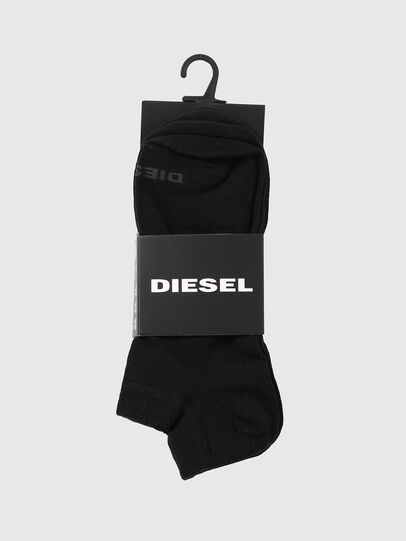 Diesel - SKM-GOST-THREEPACK, Black - Low-cut socks - Image 2