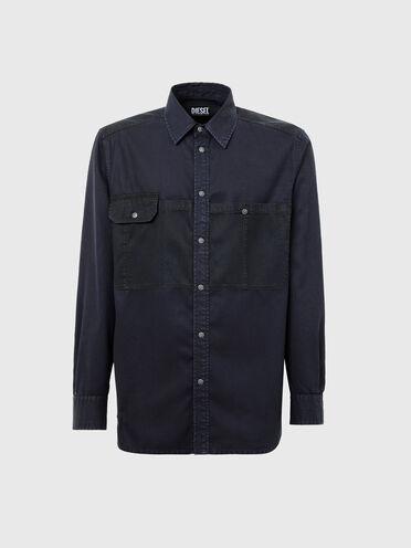 Shirt in mix-wash Tencel fabric
