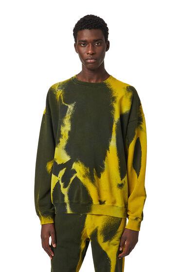 Green Label overdyed sweatshirt