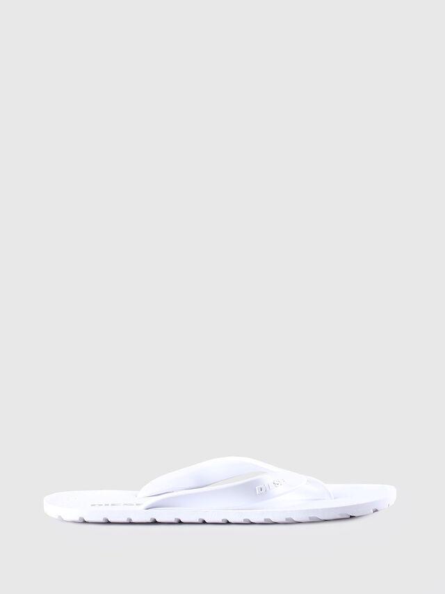 Diesel - SPLISH, White - Slippers - Image 1