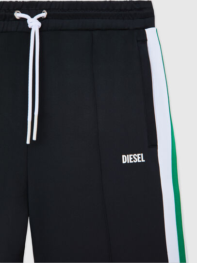 Diesel - P-KURL, Black - Shorts - Image 3