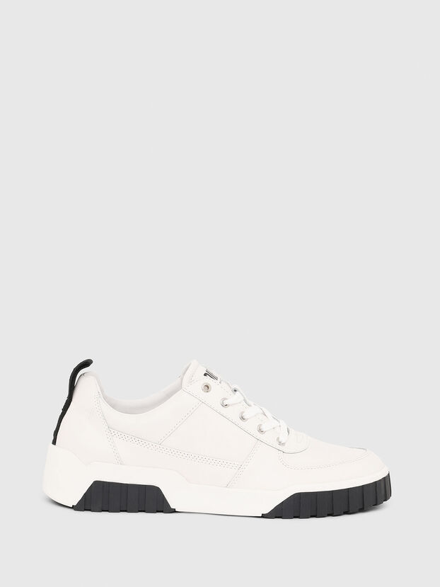 S-RUA LOW, White - Sneakers