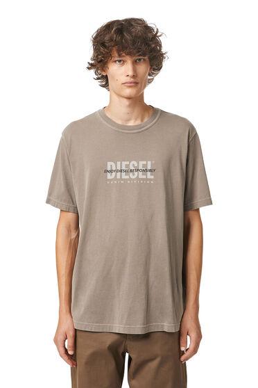 Green Label printed T-shirt