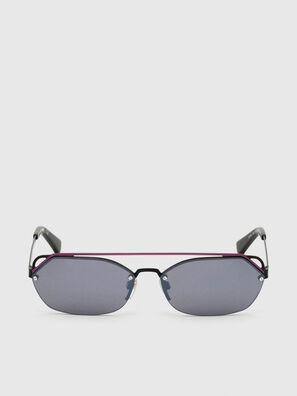DL0313, Black/Violet - Sunglasses
