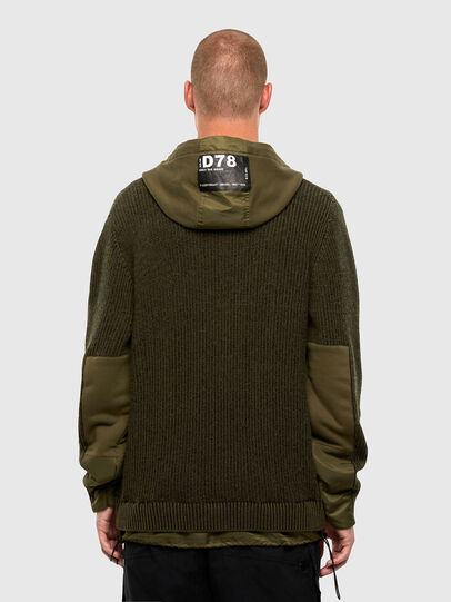Diesel - K-THOMPSON, Olive Green - Jackets - Image 2