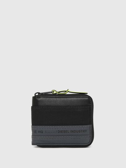 Diesel - ZIPPY HIRESH S, Black/Blue - Zip-Round Wallets - Image 1