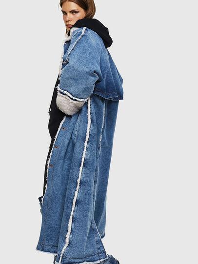 Diesel - DE-VALY, Medium blue - Winter Jackets - Image 4