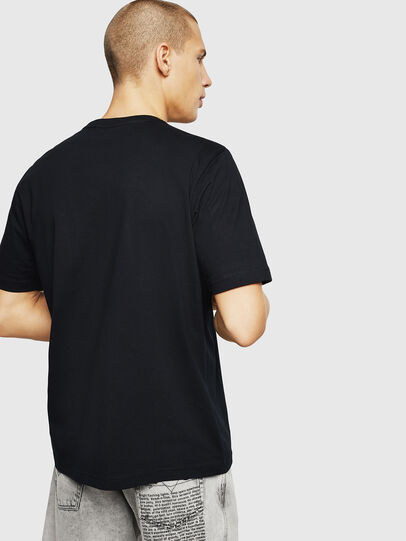 Diesel - T-JUST-A9, Black - T-Shirts - Image 2