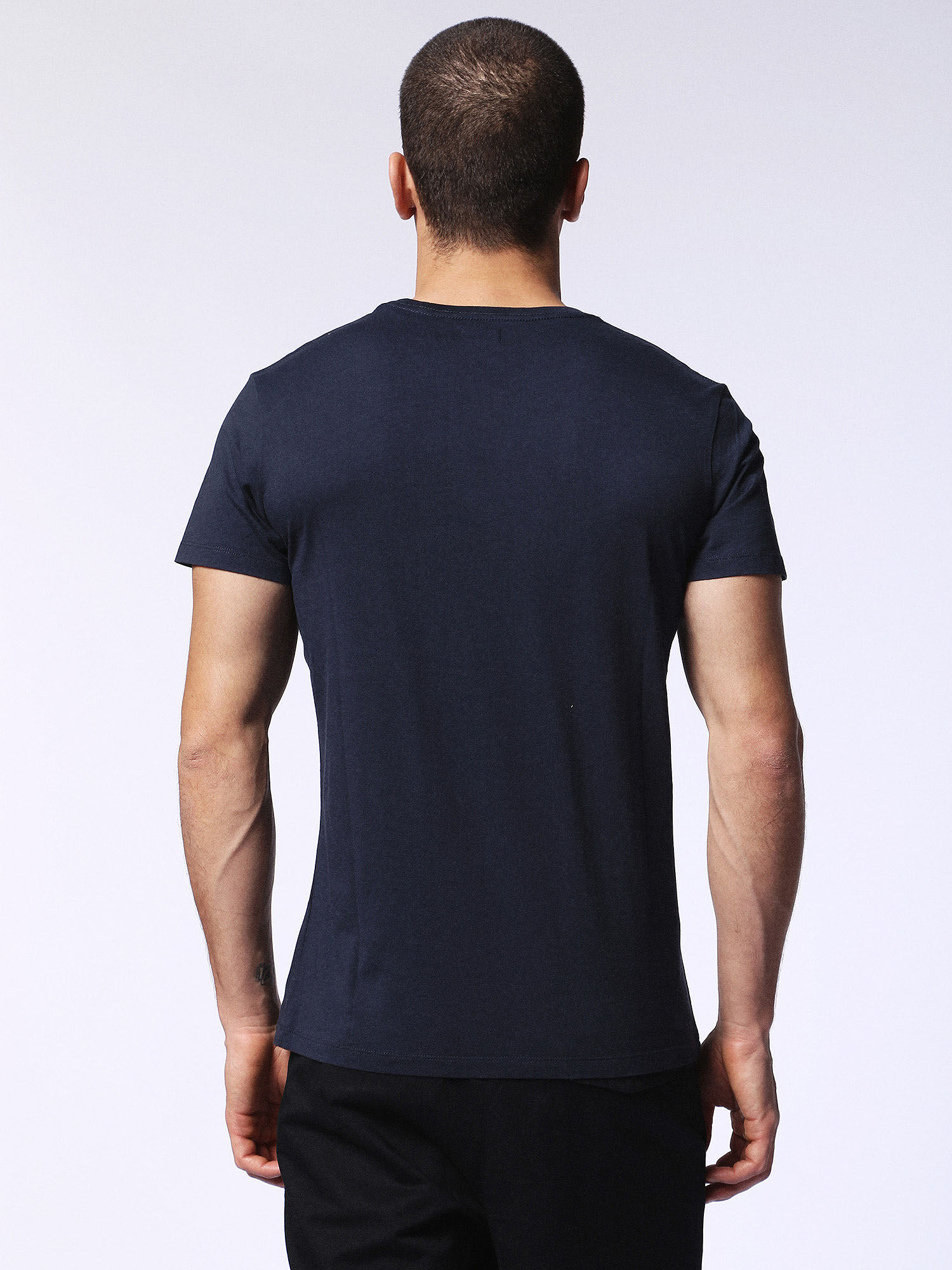 00SQXC0091B T-Shirts Man T-DIEGO-FO by Diesel Blue