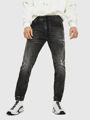 f49fa135 Mens JoggJeans: skinny, tapered | Go with your hair · Diesel