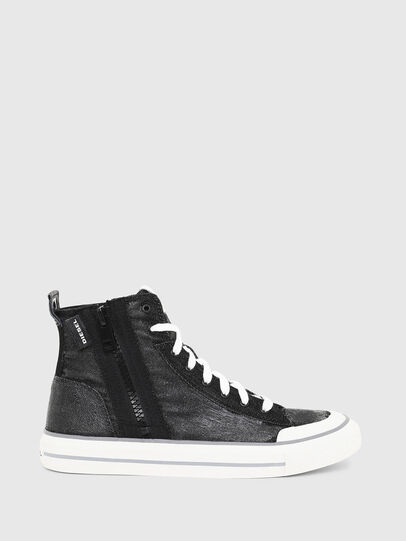 Diesel - S-ASTICO MID ZIP, Black - Sneakers - Image 1